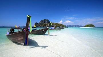 Le limpide acque di Krabi, in Thailandia