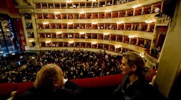 Il Teatro La Scala a Milano (foto Alamy/Milestone Media)