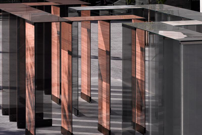 L'installazione Two Lines by David Chipperfield Architects al London Design Festival 2011 (foto: Flickr/London Design Festival)