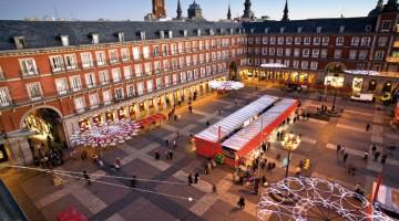 A pochi metri dalla Puerta del Sol, a Madrid, c'è Plaza Mayor (foto: Ufficio Turismo Spagnolo)