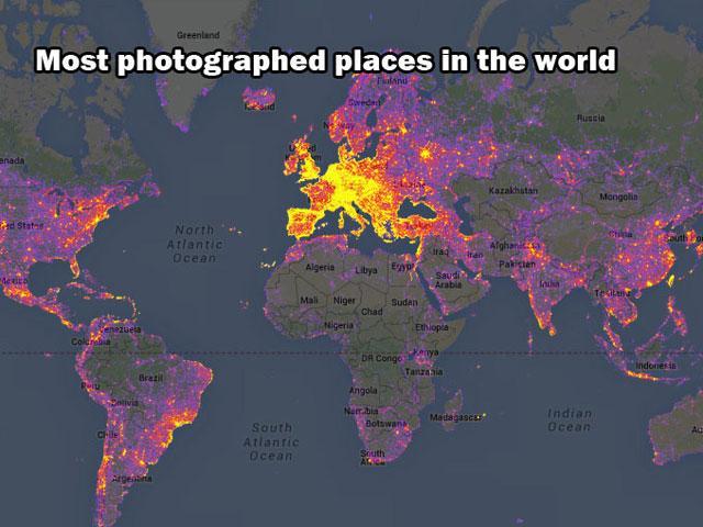 I 10 posti più fotografati del pianeta