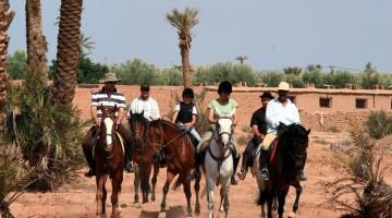 Passeggiata a cavallo nei dintorni di Marrakech