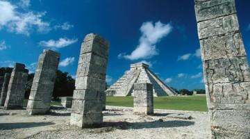 Le rovine di Tulum, l?antica capitale dei Maya, nello Yucatan