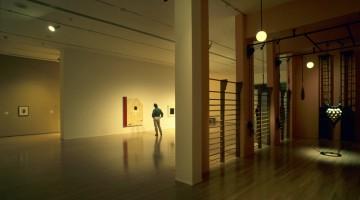 Opere di artisti del Québec sono esposte al Museo d?Arte Contemporanea di Montréal, da cui si gode una bella vista su Place des Arts (foto: Flavio Pagani)