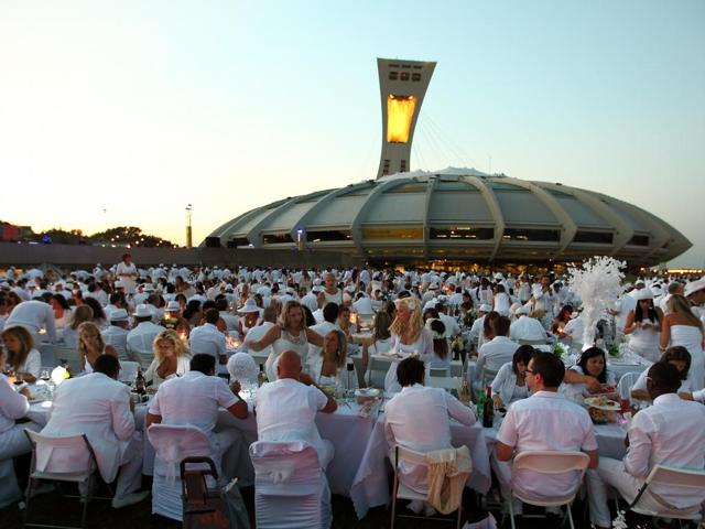 Cena in bianco, l'evento in giro per il mondo