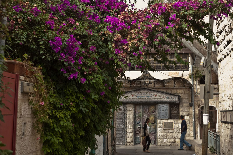 Il quartiere di Nachlaot, a Gerusalemme (foto JDA: Tourism)