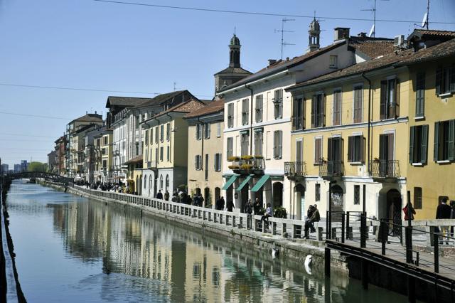 """La """"nuova""""  Darsena: Milano tra le  città d'acqua nel mondo"""