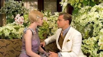 Dalla nuova versione del Grande Gatsby adesso nei cinema, Carey Mulligan e Leonardo DiCaprio