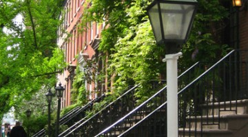 Greenwich Village, il quartiere creativo di New York (foto Alamy/Milestone Media)