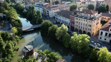 Padova a volo d'uccello: è il panorama che si gode dall'alto della Torre della Specola, sede dell'Osservatorio astronomico (foto: Carlotta Lombardo)
