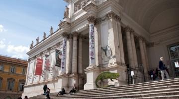 Il Palazzo delle Esposizioni di Roma (foto Alamy/Milestone Media)