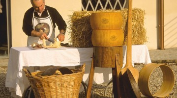 Per fare conoscere segreti e storia del Parmigiano Reggiano a Soragna è stato allestito un museo ad hoc