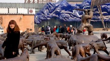 L?ex fabbrica d?armi 798 a Dashanze, quartiere di Pechino, sulla strada per l?aeroporto, è la Tribeca cinese