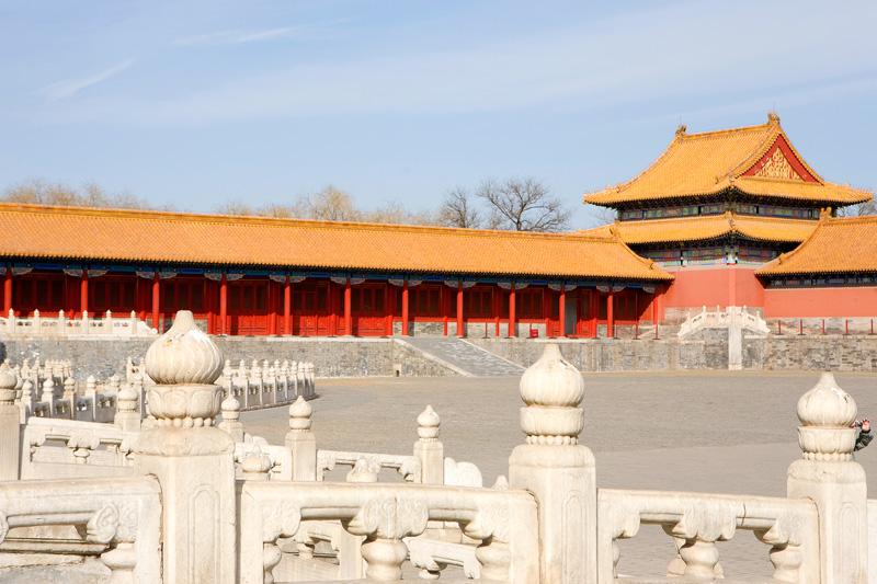 La Città Proibita di Pechino, in Cina