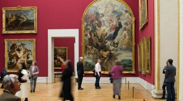 La sala Rubens dell'Alte Pinakothek, una delle più antiche e ricche gallerie del mondo (foto: ©Alte Pinakothek)