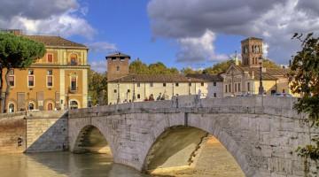 Ponte Cestio, a Roma (foto: Flickr/Scatti di memoria)