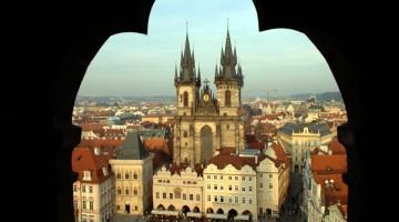 La Chiesa di Teyn, a Praga (foto Alamy/Milestone Media)