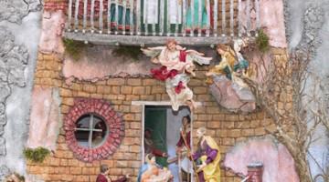 Presepi di ogni sorta trasformano l'Arena di Verona per tutto il mese di dicembre e quasi tutto gennaio (foto: Archivio Provincia Verona)