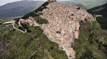 Sant'Agata di Puglia vista dall'alto