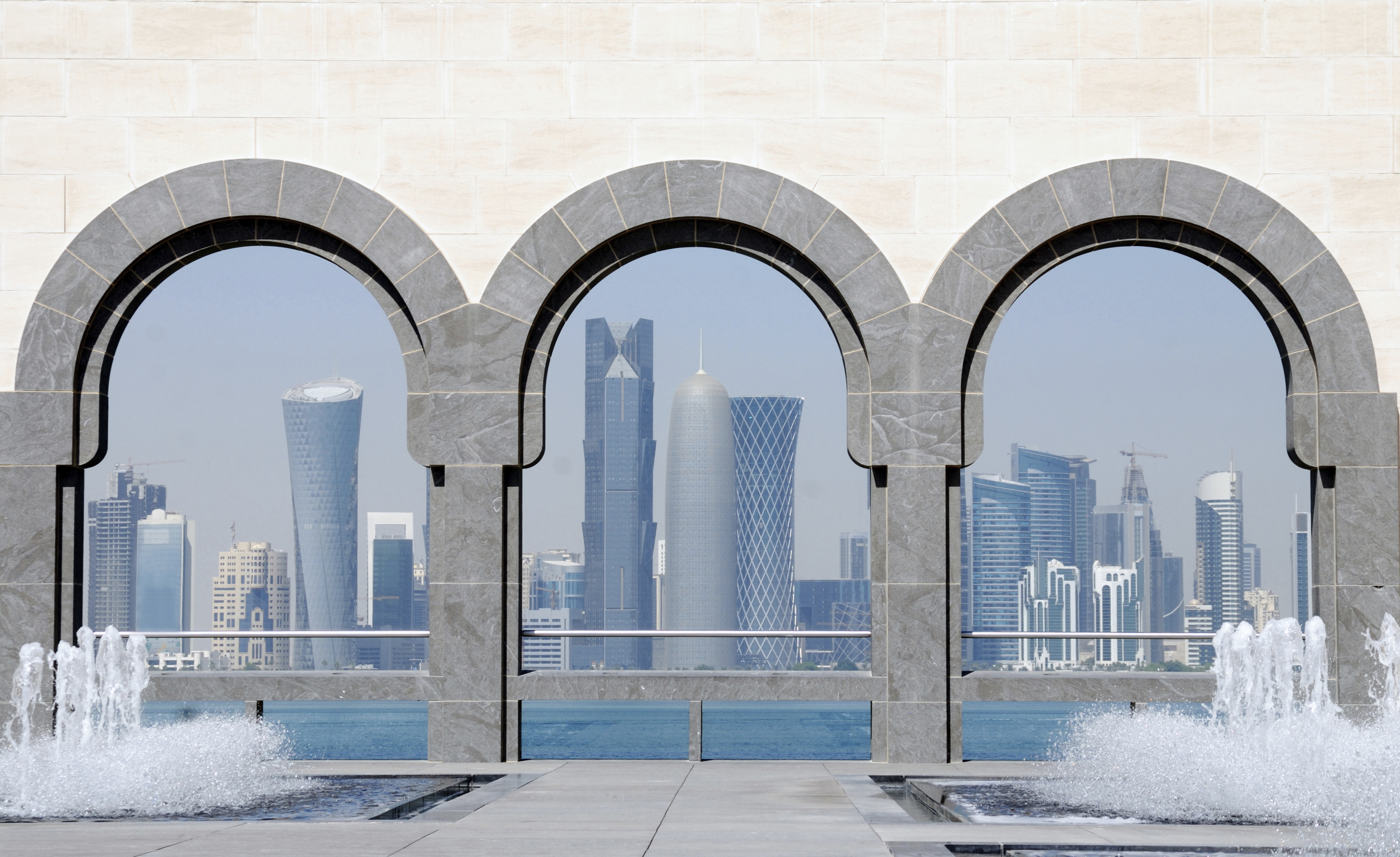Lavorare In Qatar Architetto quell'oasi dell'arte nel deserto del qatar - dove viaggi