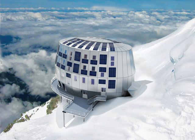 Alpi: 15     rifugi high-tech
