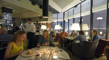 Reika, ultrasofisticato ristorante con vista spettacolare sulla Moscova