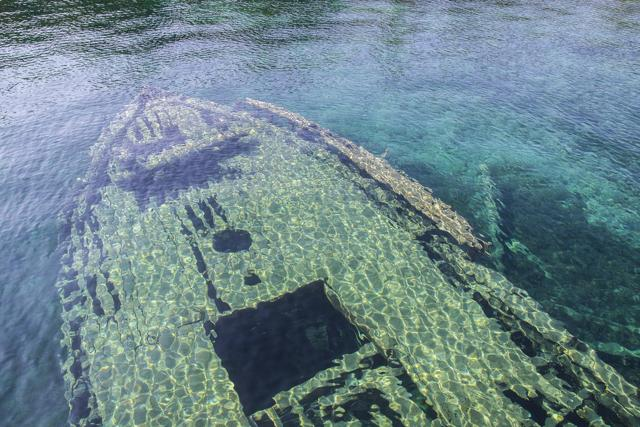 Monumenti marini, i relitti più spettacolari