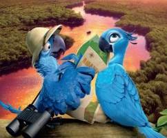 Blu e Gioiel (foto 2013 Twenieth Century Fox Film Corporation)