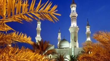 La Gran Moschea Sheikh Zayed  (foto Martin Sasselai/Contrasto)