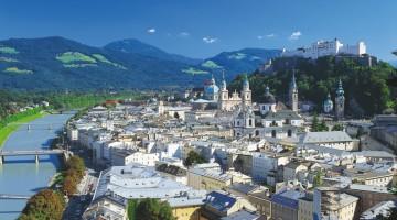 Salisburgo è attraversata dal fiume Salzach (foto: Ente del Turismo austriaco)
