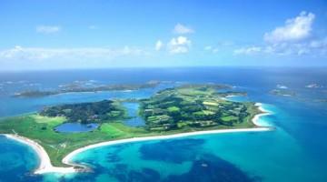 Una veduta aerea dell'isola di Tresco (foto: VisitBritain)