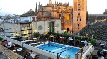 Il panorama mozzafiato dalla terrazza dell' di Siviglia