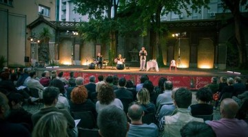 Un momento del festival Storienote,  tra musica, teatro, letteratura e  arti figurative