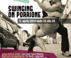 """Musica swing, modelle con costumi anni '30 e street food a tema a """"Swinging on Porrione"""""""