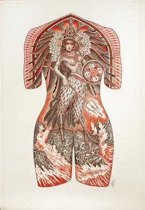 Tatuaggi: al museo e sui corpi delle star