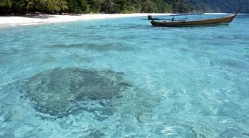 Il mare di Koh Lanta, un arcipelago di 52 isole