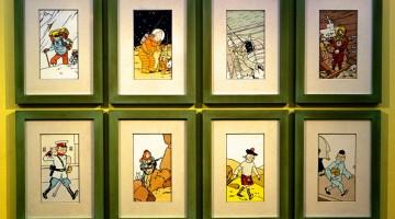 Tintin, eroe e fumetto nazionale (foto Alamy/Milestone Media)