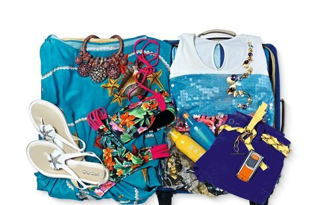 Foto Sogno tropicale: la valigia per il mare