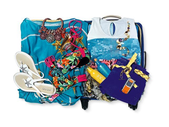Sogno tropicale: la valigia per il mare