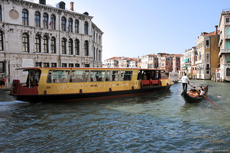 I turisti dell?arte che visitano Venezia hanno ora a disposizione un battello dedicato, il Vaporetto dell'Arte