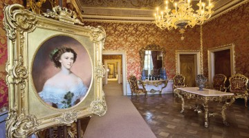 Le stanze di Sissi sono state da poco restaurate e aperte al pubblico