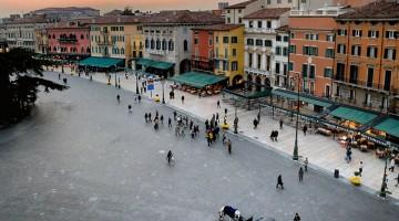 Piazza Bra, il salotto di Verona