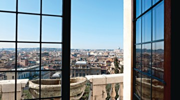 Uno scorcio unico sulla capitale da Villa Medici, sede dell'Accademia di Francia