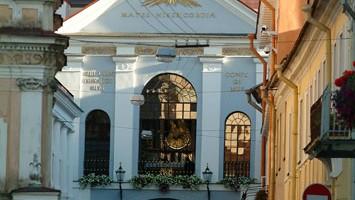 La porta dell?Aurora, l?unica rimasta delle nove antiche porte cittadine (foto: Lithuanian State Department of Tourism)