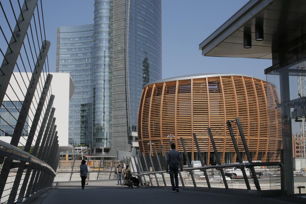 """""""Lo sguardo di…"""" al nuovo UniCredit Pavilion"""