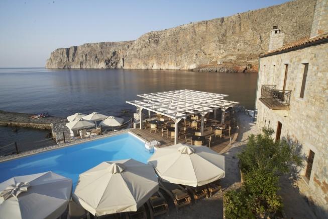 Il Kyrimai Hotel nel Peloponneso