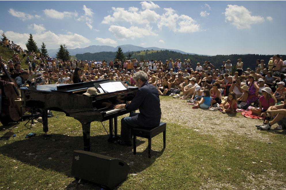 Albe, trekking, concerti: i Suoni delle Dolomiti
