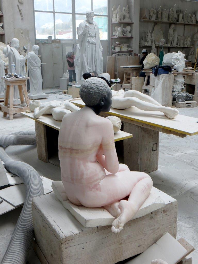 L'arte contemporanea e il marmo di Cararra