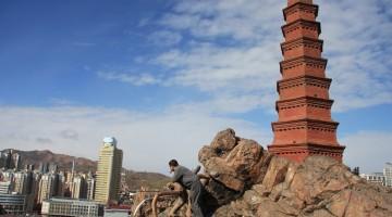 Urumqi – pagosa al parco Hongshan