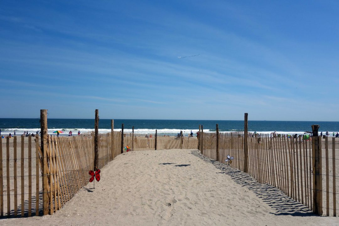 New York: Rockaway Beach, spiaggia trendy